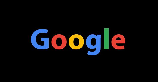 Googleロゴ黒
